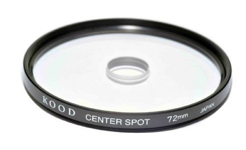72mm Centre Spot Clear Filter Made in Japan